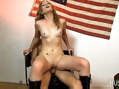 Lucie Black got pounded hard