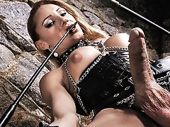 Kinky Mistress Mylena Playing Solo